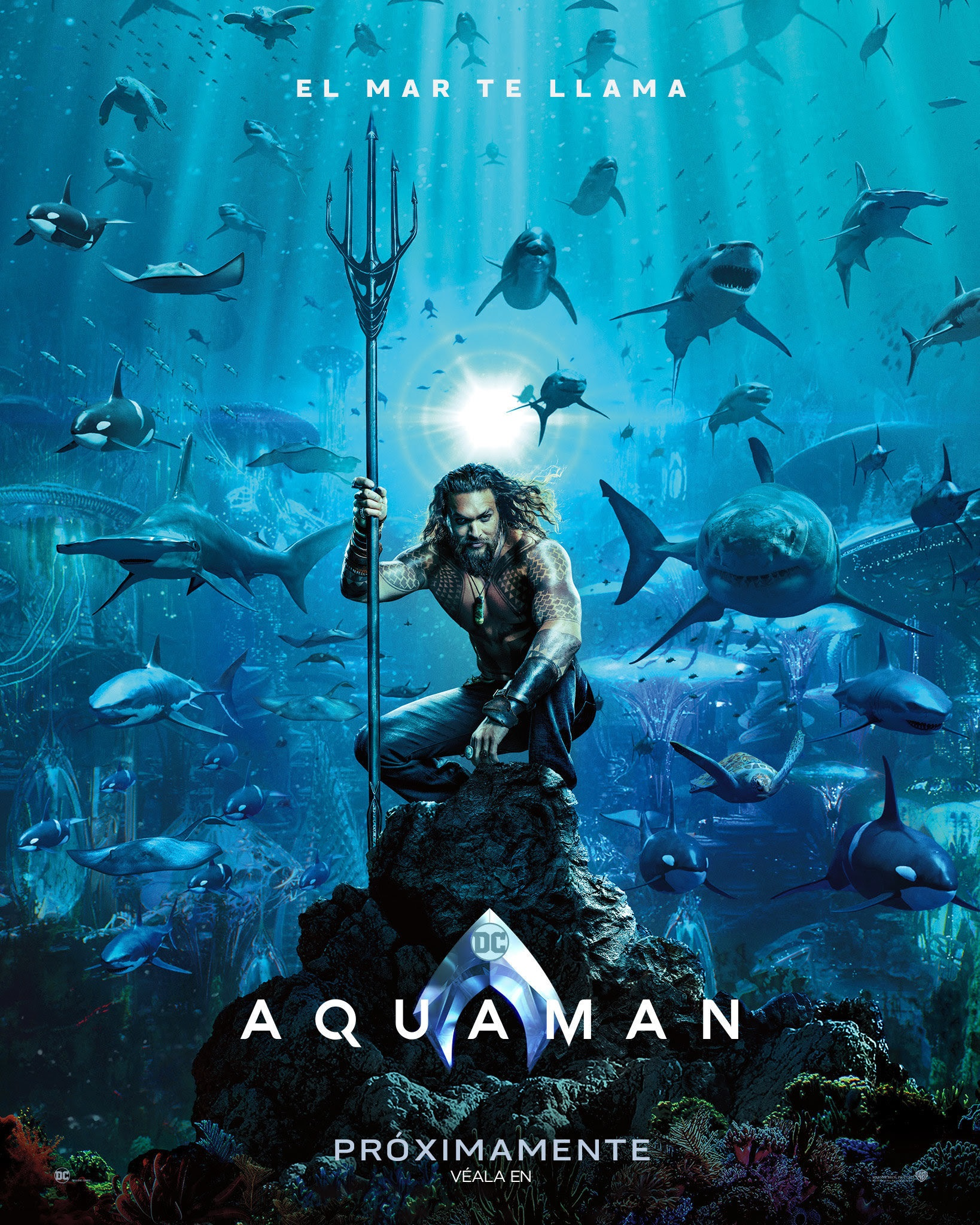 Con Aquaman, sé un héroe de los océanos este 15 de septiembre
