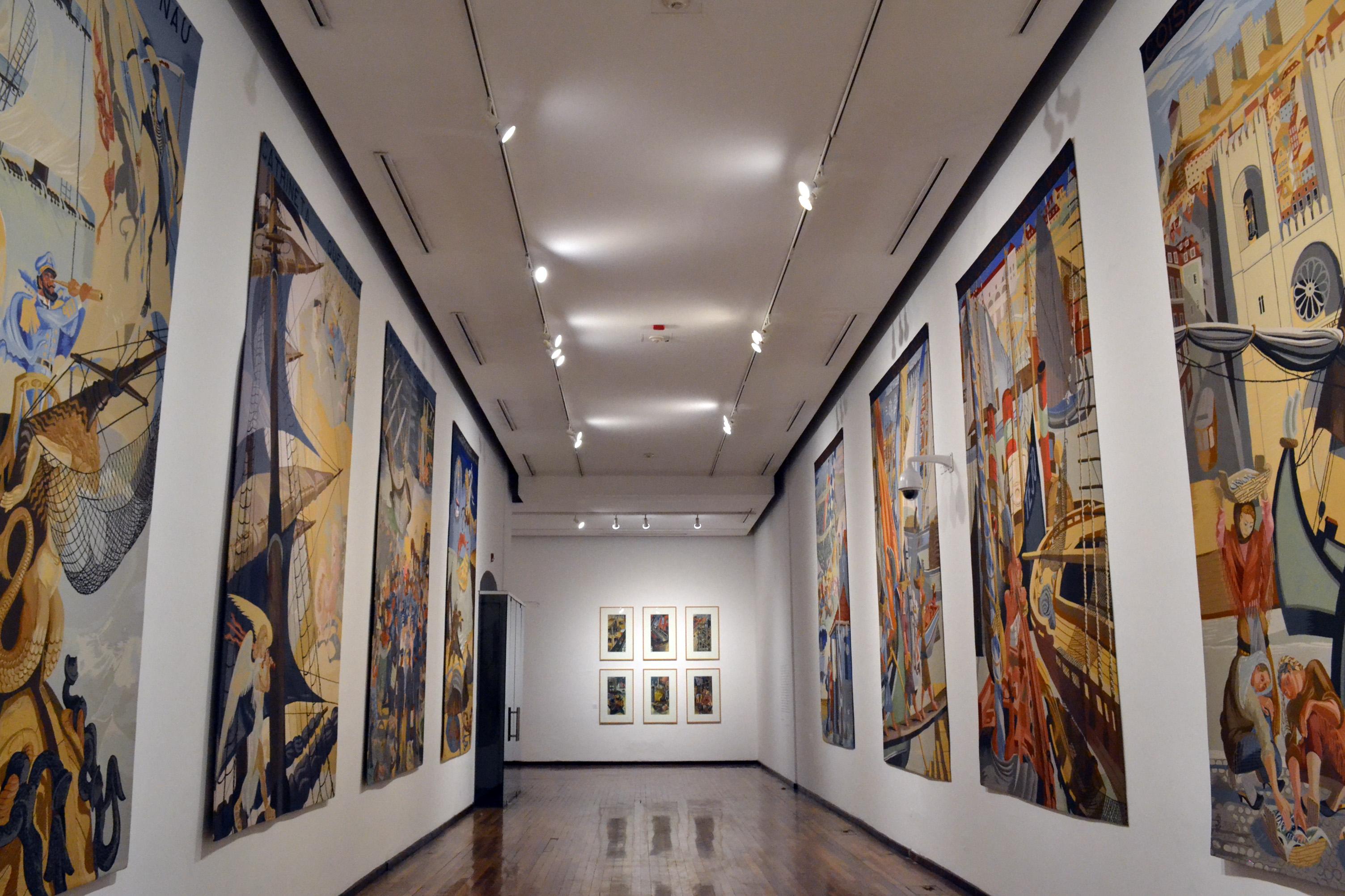 Llega la obra del muralista Almada Negreiros al Instituto Cultural Cabañas