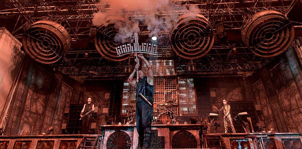 Rammstein inicia gira mundial y despide año en Puerto Vallarta