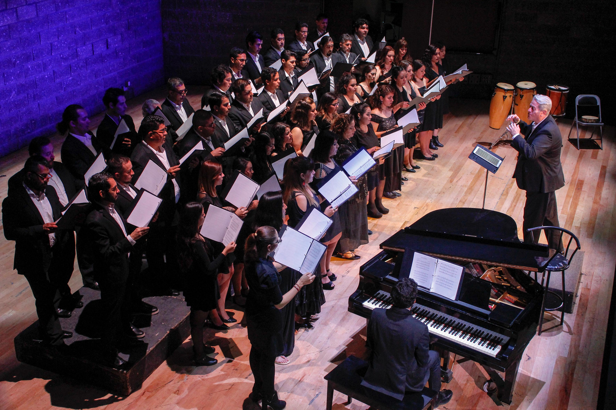 El Coro Municipal de Zapopan se presenta en Miércoles de Concierto
