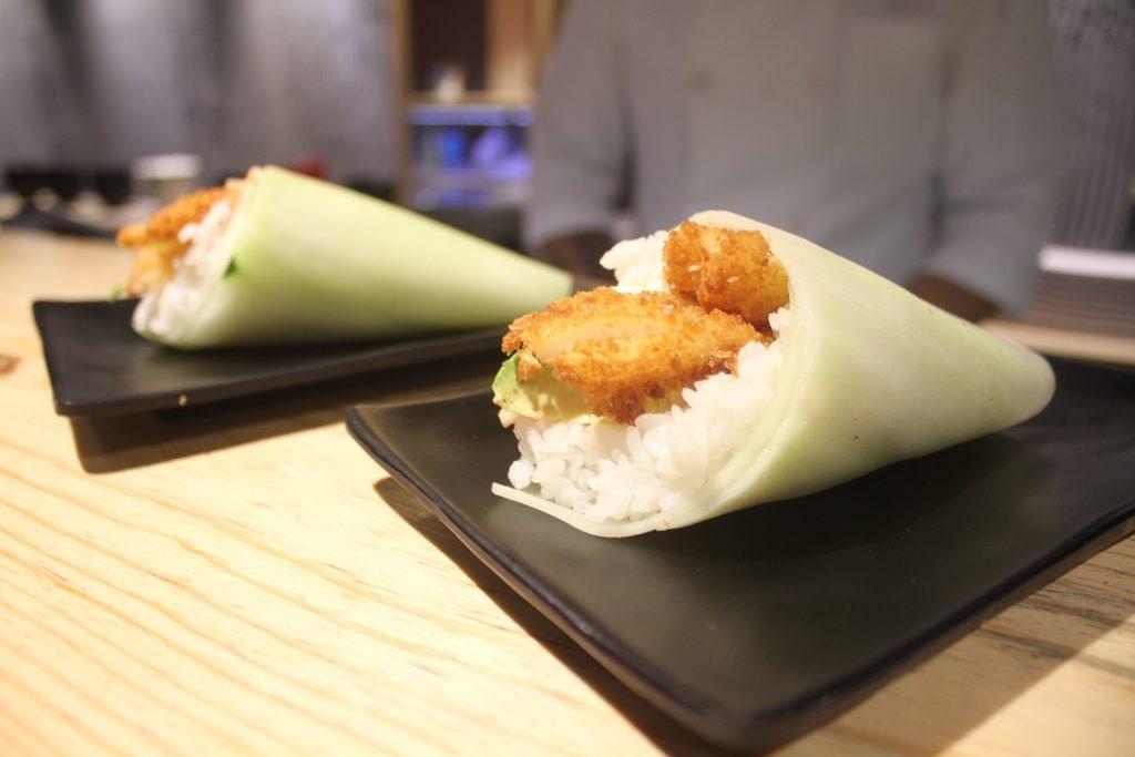 Atarashi 33, sushis preparados con un toque único y original.