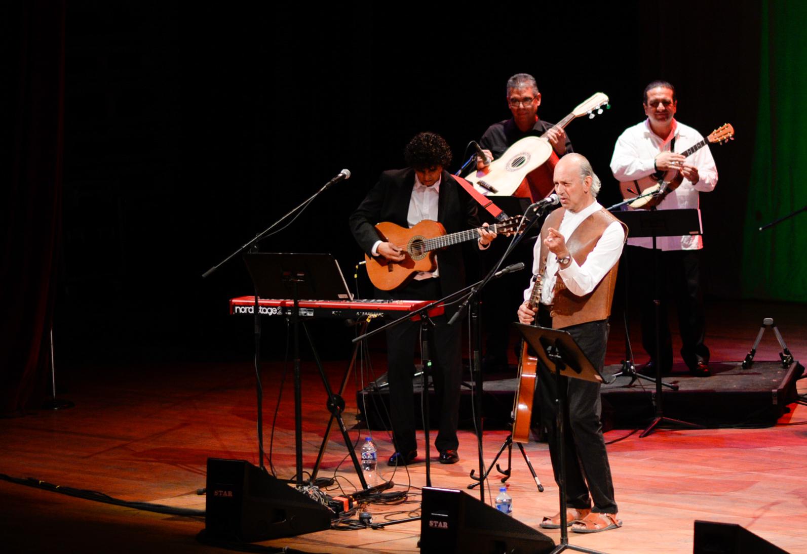 Se realizó con éxito el concierto de Paco Padilla a beneficio de la Unidad de Atención a Niños con Quemaduras Graves del HCG