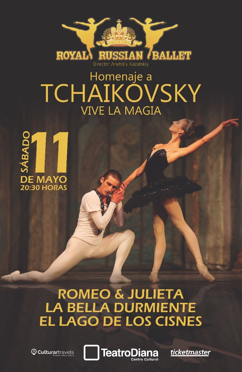 Royal Russian Ballet Homenaje a Tchaikovsky