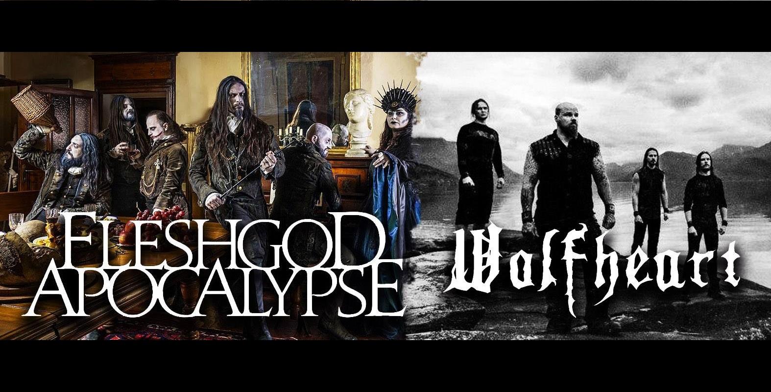 Fleshgod Apocalypse + Wolfheart en GDL