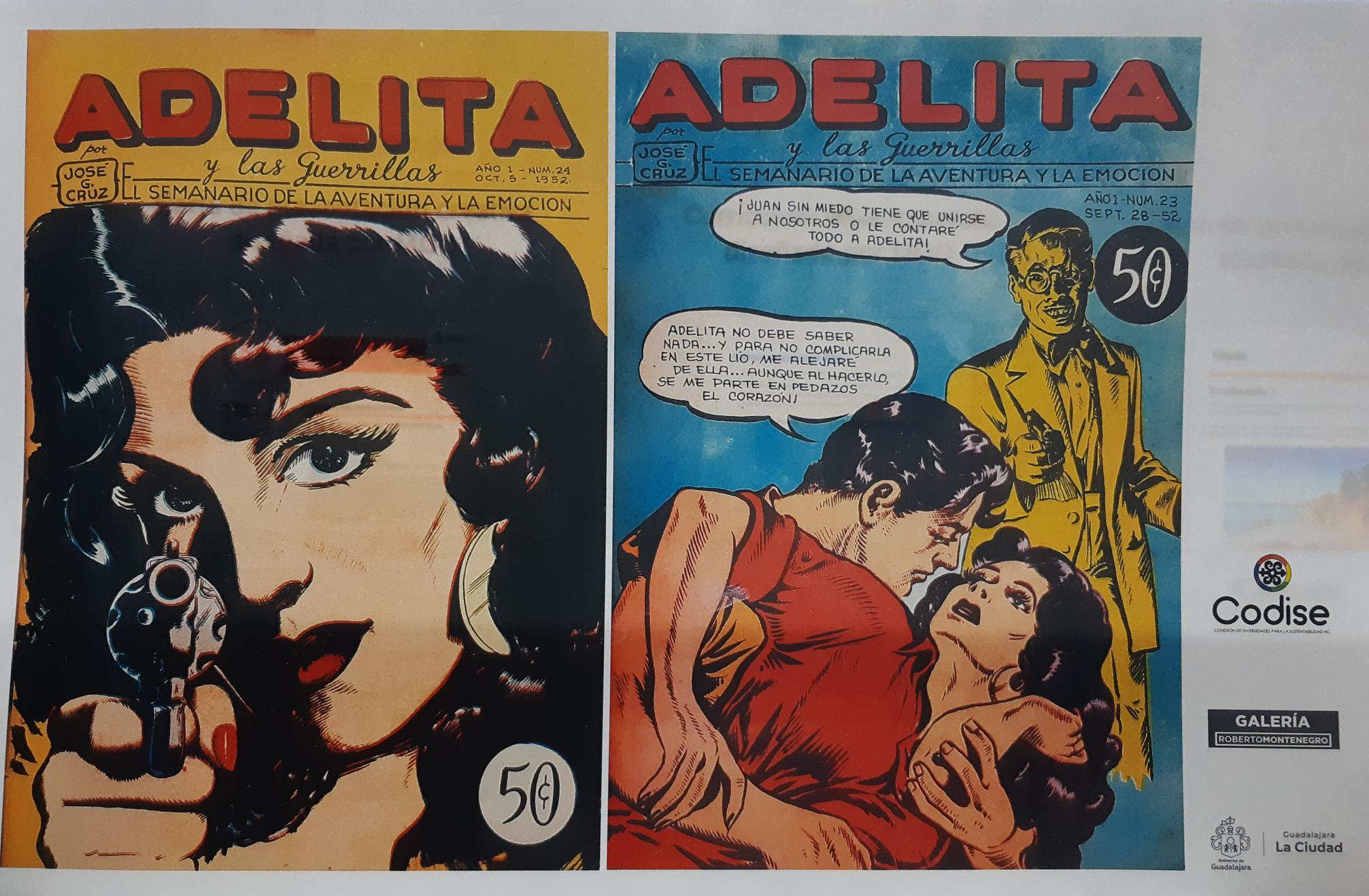 Adelita y las Guerrillas. 80 Aniversario.