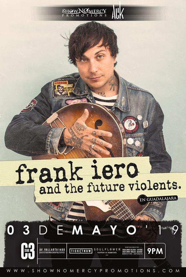 Frank Iero & The Future Violents en Guadalajara