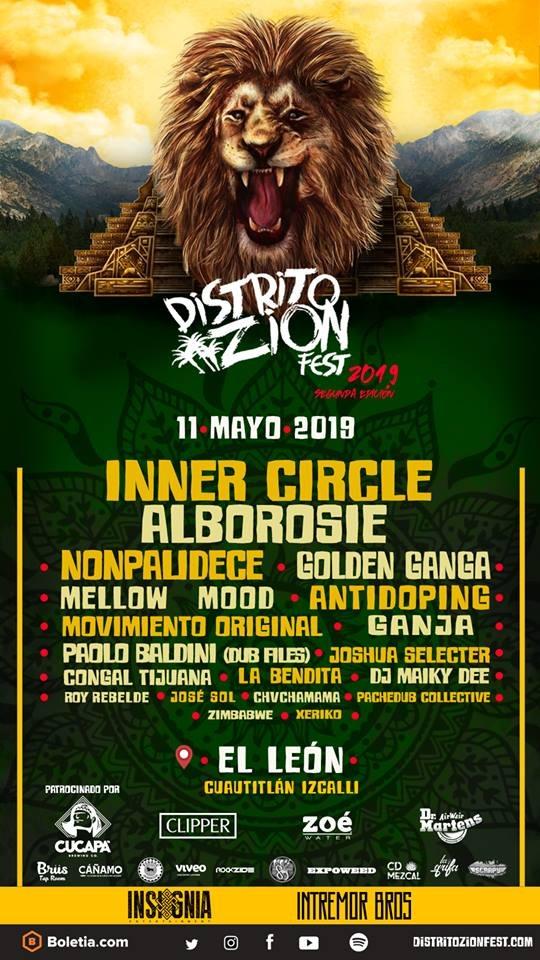 Regresa Distrito Zion Fest en su segunda edición con lo mejor de la escena reggae latinoamericana