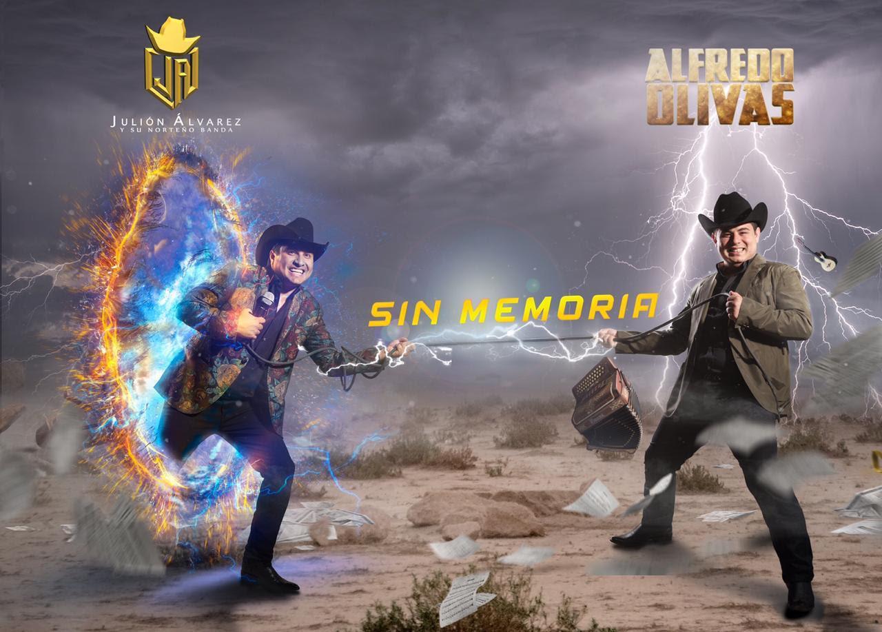 Alfredo Olivas y Julión Álvarez hacen historia al llegaral número 1 en sólo una semana