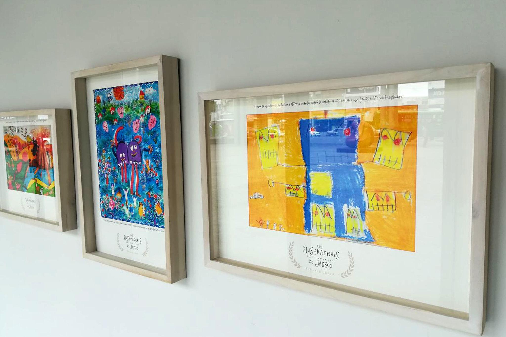 """""""Los ilustradores más pequeños de Jalisco"""" expondrán en el Centro Cultural Constitución"""