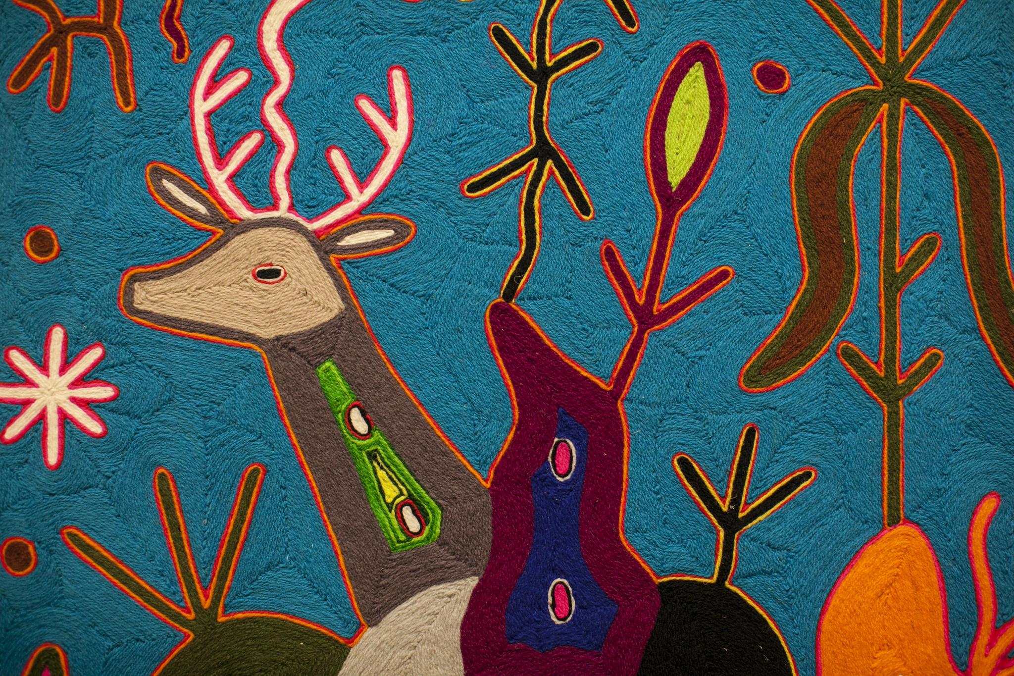 Presenta Museo Cabañas origen del arte moderno Wixárika