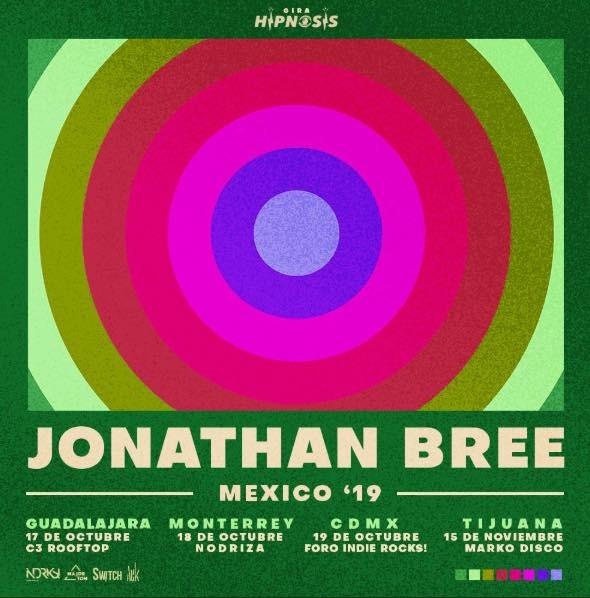 Gira de Jonathan Bree en México