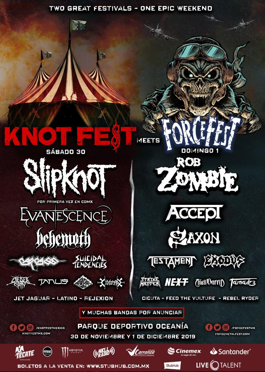 KnotFest y ForceFest ahora son un solo festival