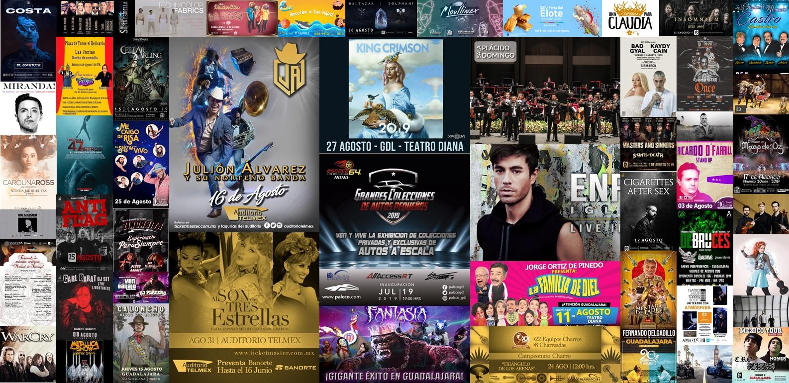 Calendario de Eventos Agosto 2019