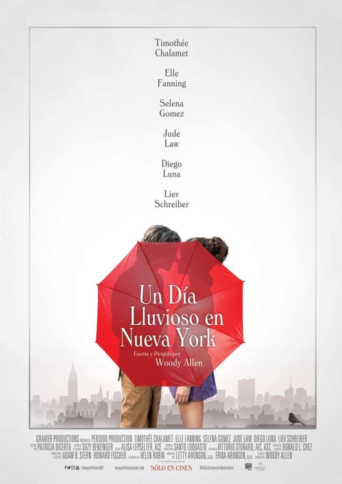 Un Día Lluvioso en Nueva York en el Festival Internacional de Cine de Morelia