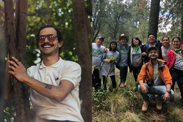 Caloncho lanza campaña de reforestación y música.