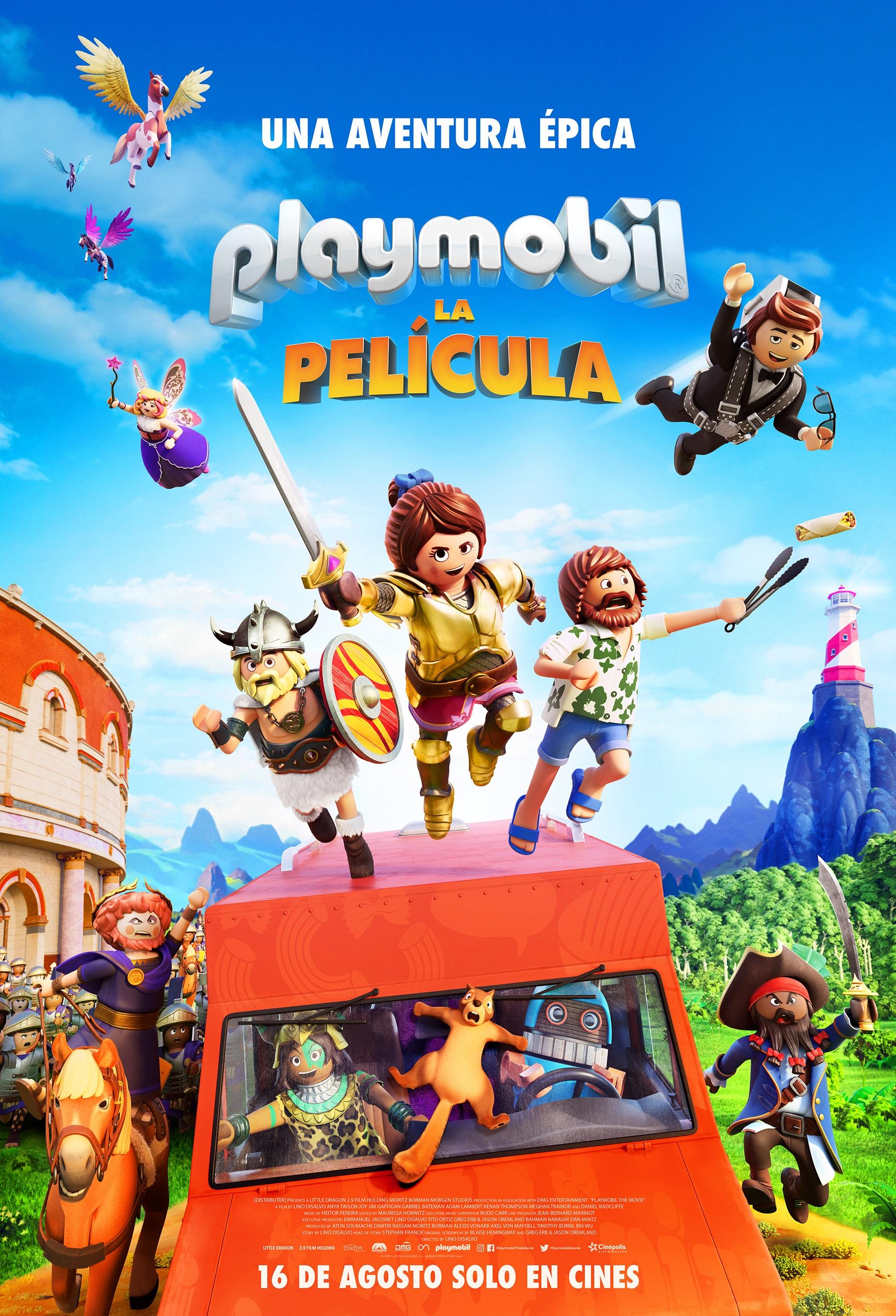 Playmobil la película / Estreno: 16 de agosto