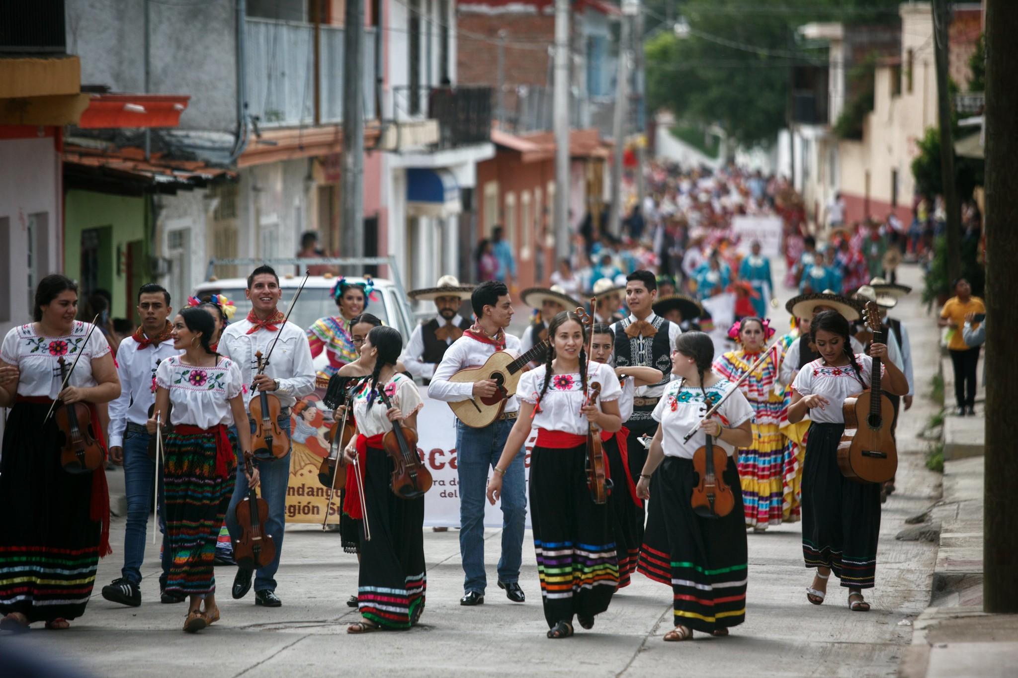 Abarrotan Gala Inaugural del 18 Encuentro Nacional del Mariachi Tradicional