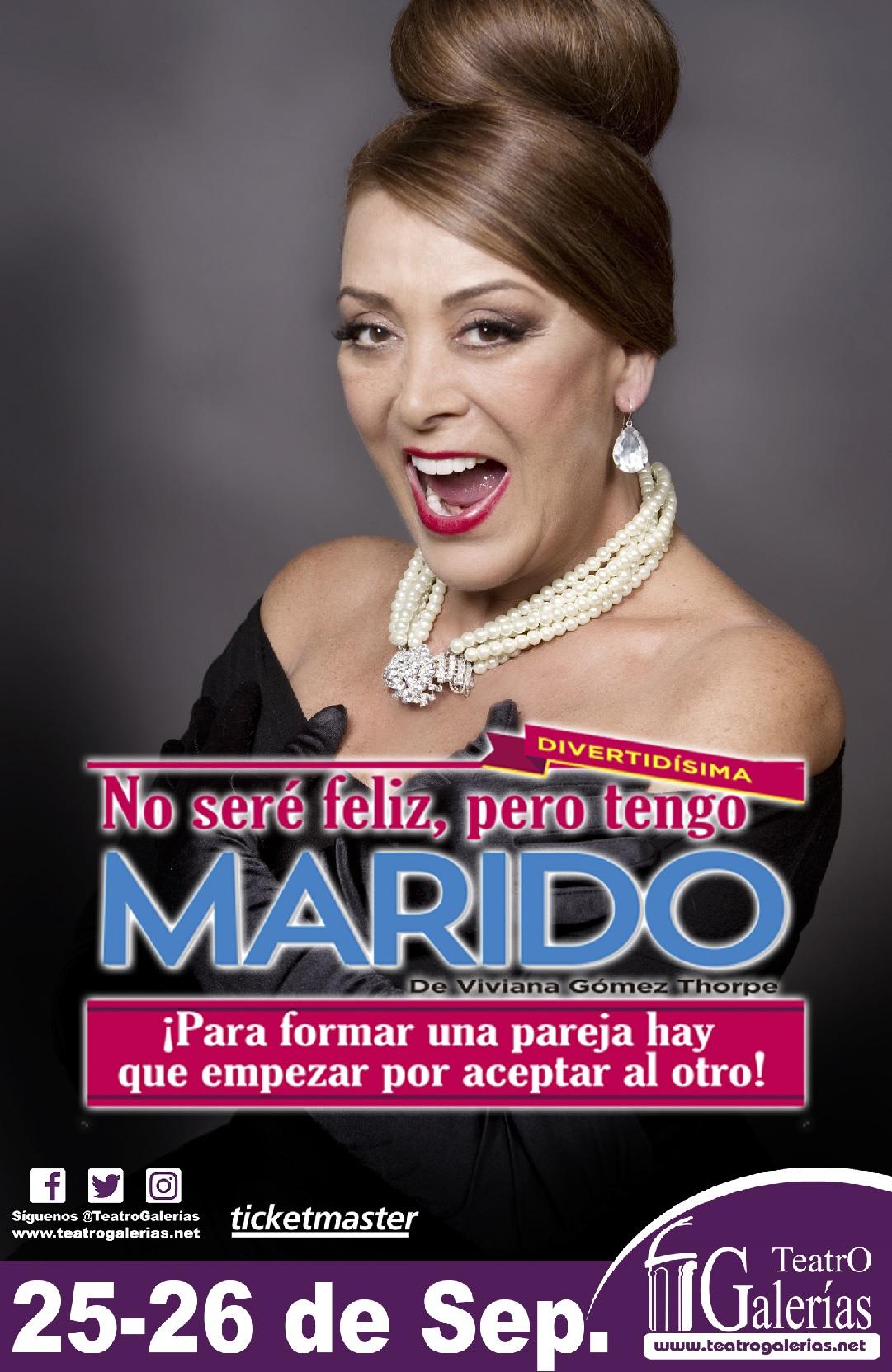 #CORTESÍAS #DateAlaFuga / No seré feliz, pero tengo Marido