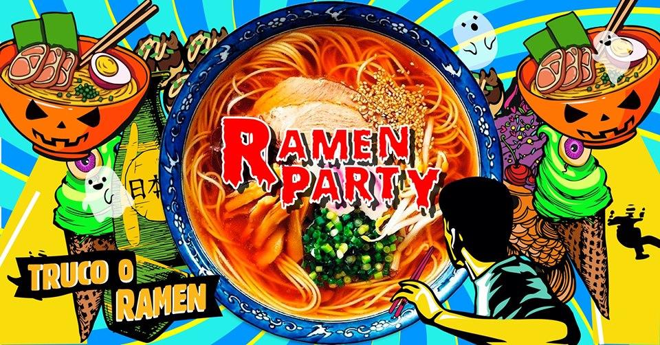 Ramen Party Guadalajara : ¡Truco o Ramen!