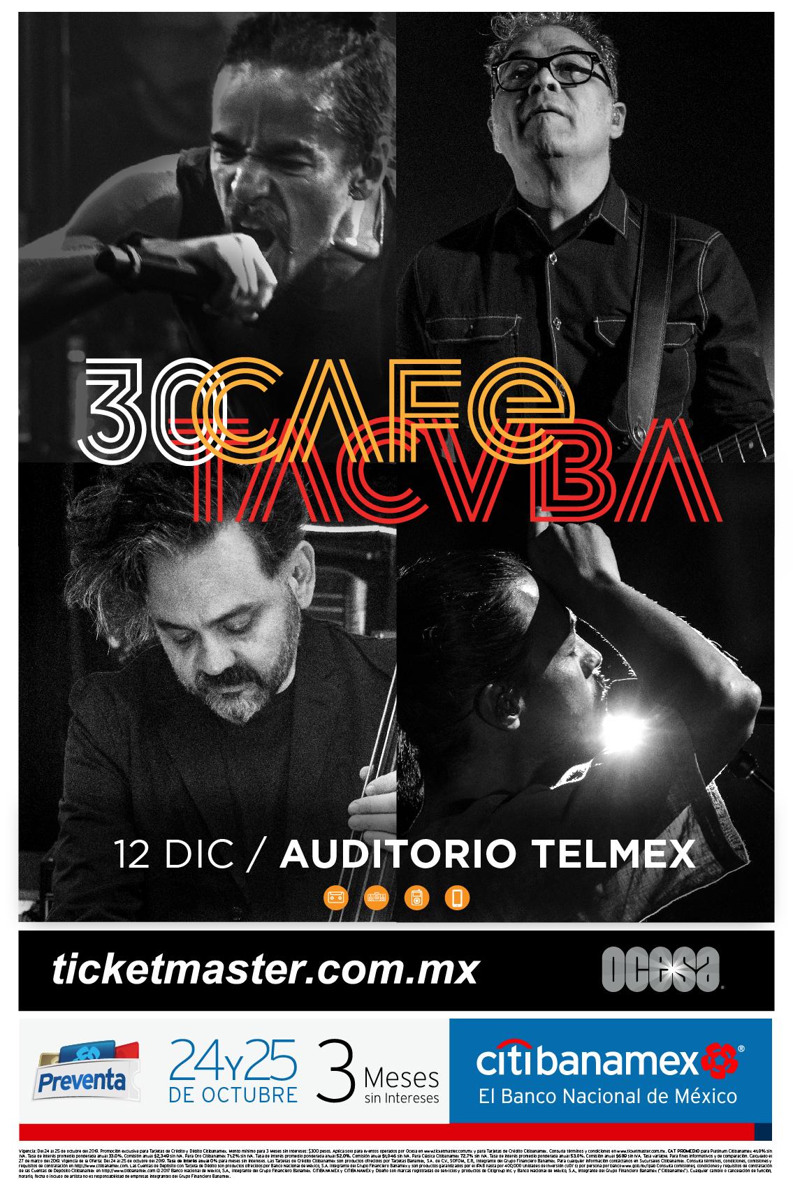 Café Tacvba festejará 30 años de carrera con tremendo concierto en Guadalajara