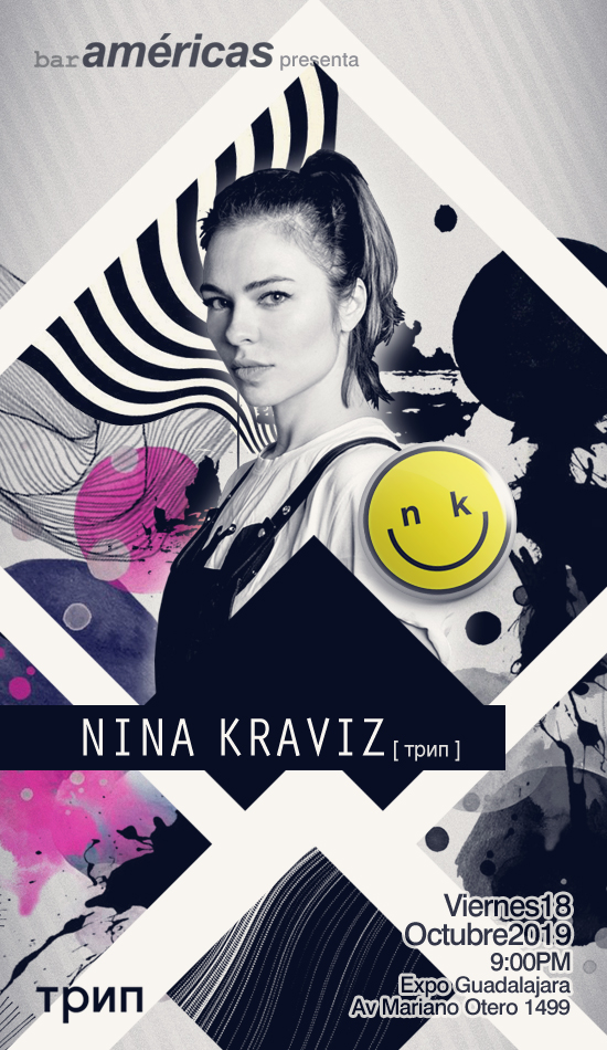 NINA KRAVIZ en Guadalajara