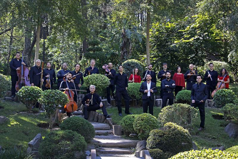 Presenta la Orquesta de Cámara de Zapopan concierto con el director huésped José Guadalupe Flores
