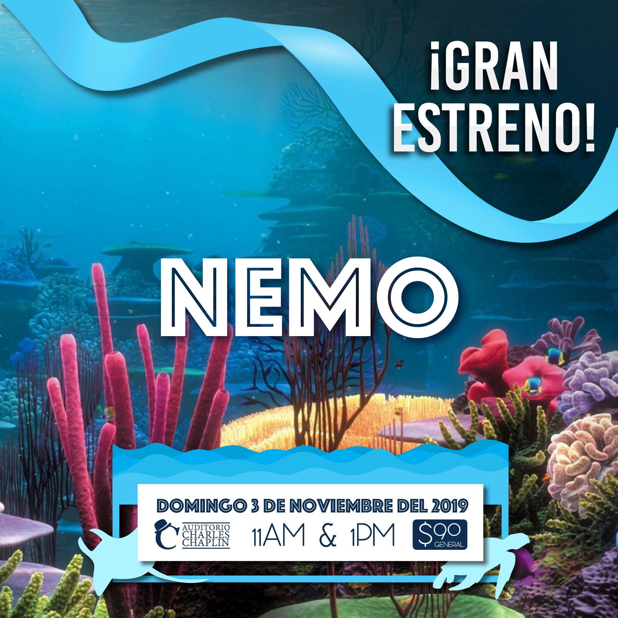 #CORTESÍAS #DateAlaFuga / Nemo
