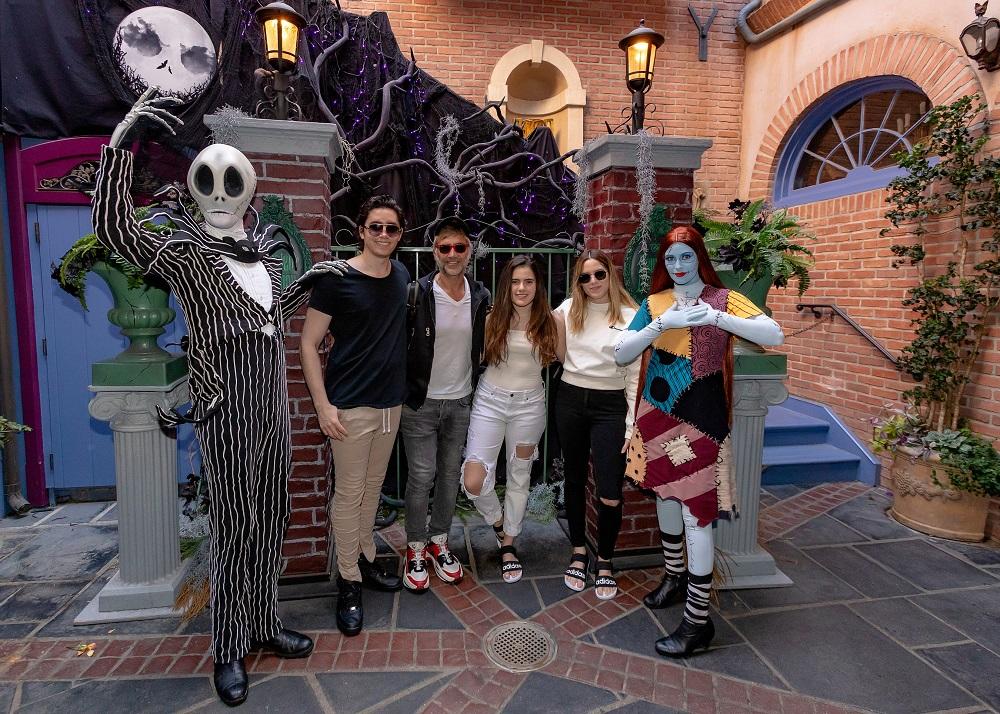 Alejandro Fernández en Disneyland Resort