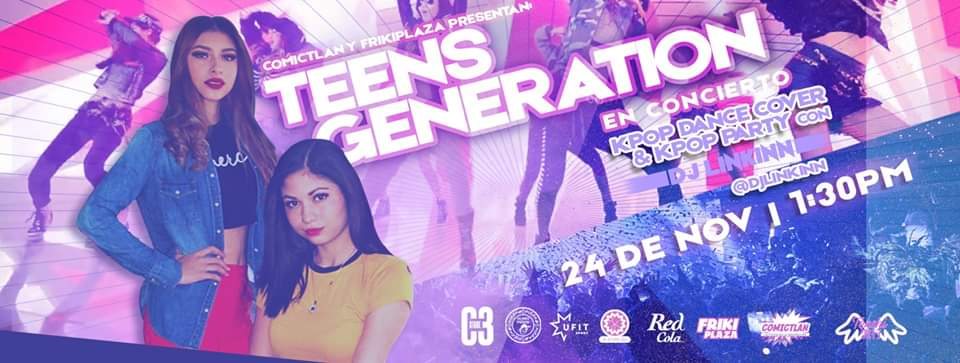 Teens Generation – Live show y Kpop party