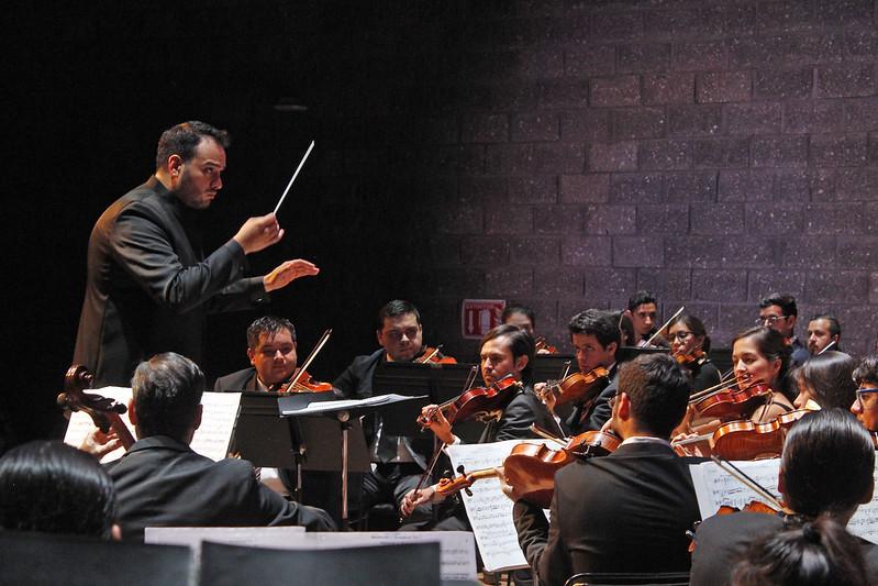 La Orquesta Sinfónica Juvenil de Zapopan presenta el concierto de clausura del Curso de Dirección Rossiniana