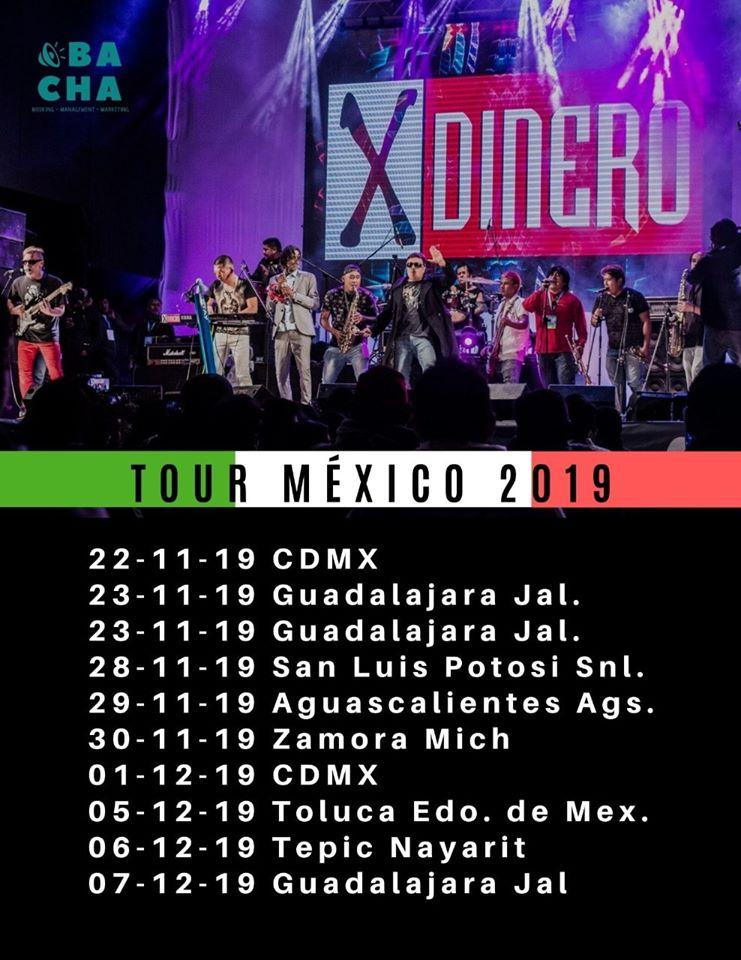 X-DINERO desde Perú de gira por México