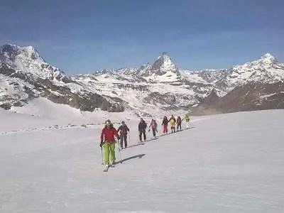 Ski Touring Monte Rosa