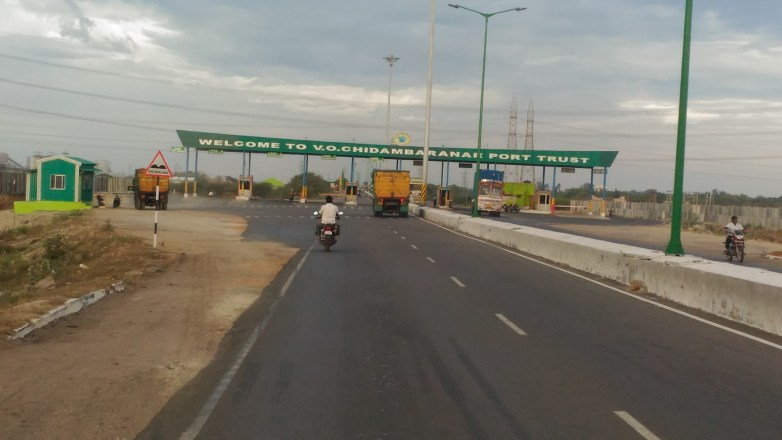 Tuticorin port checkpost