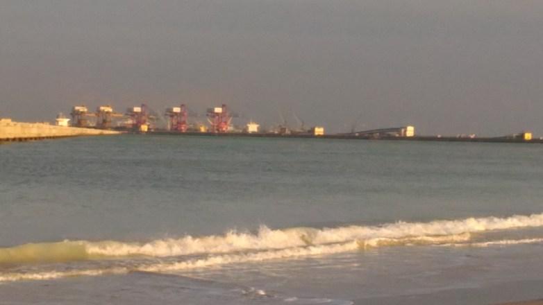tuticorin harbour view
