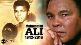 وفاة الاسطورة محمد علي كلاي