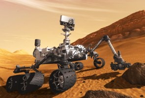"August - Unmanned rover Curiosity ""Marses"""