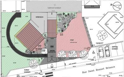 2- Plan de l'extension