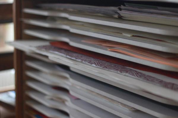 papiers marbrés