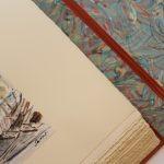 Livre Venise François Salvat - papier marbré