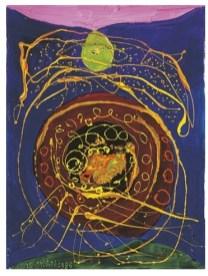 6 - Luis Chan, Le grand cycle, 1988, hst, 131 x 100 cm