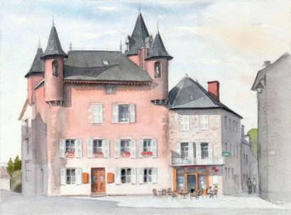 La maison du fondateur des négociants-voyageurs marchands de vin de Meymac