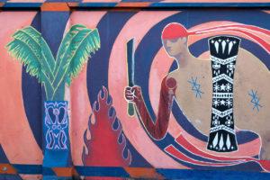 Peinture sur les murs d'Ambon