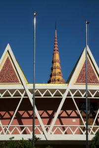 Salle de conférence Chaktomuk à Phnom Penh