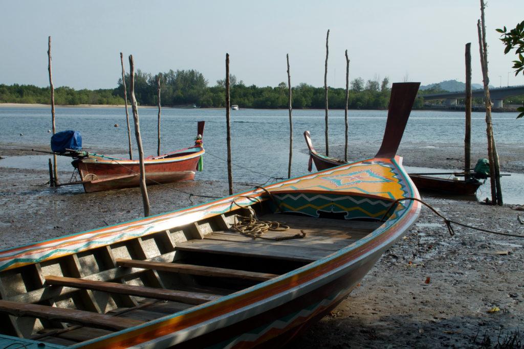 Barques de pêcheurs de Saladan à Ko Lanta