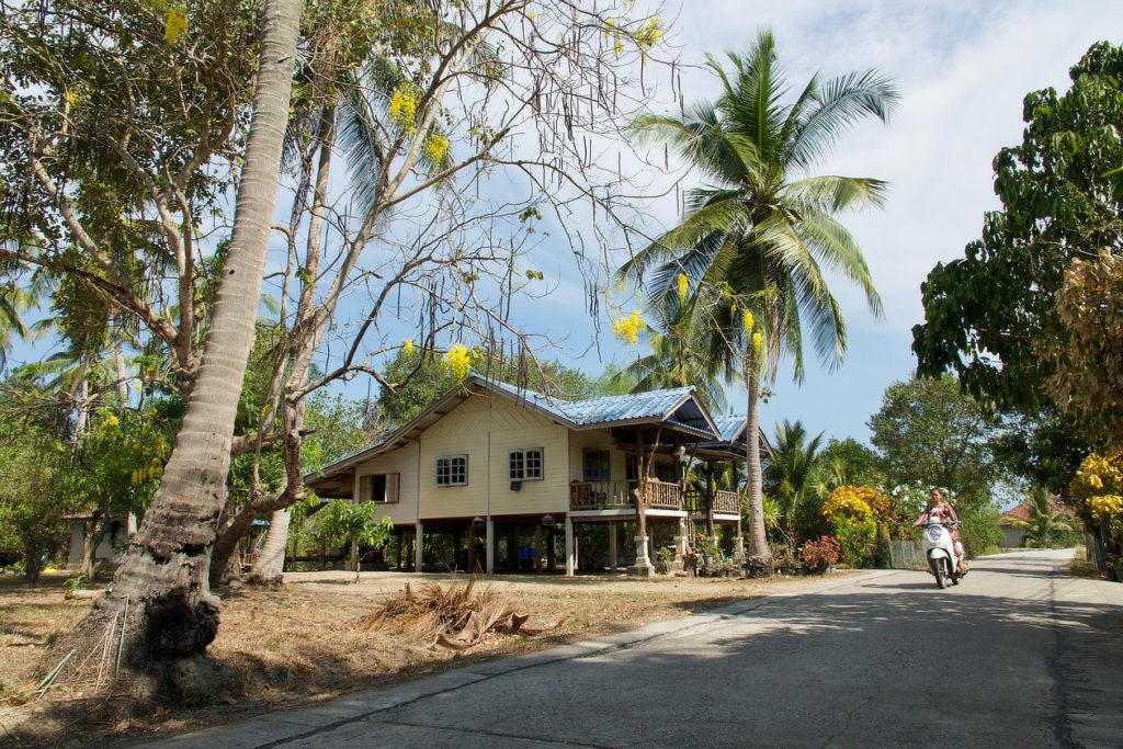 Maison de Ko Klang en face de Krabi Town