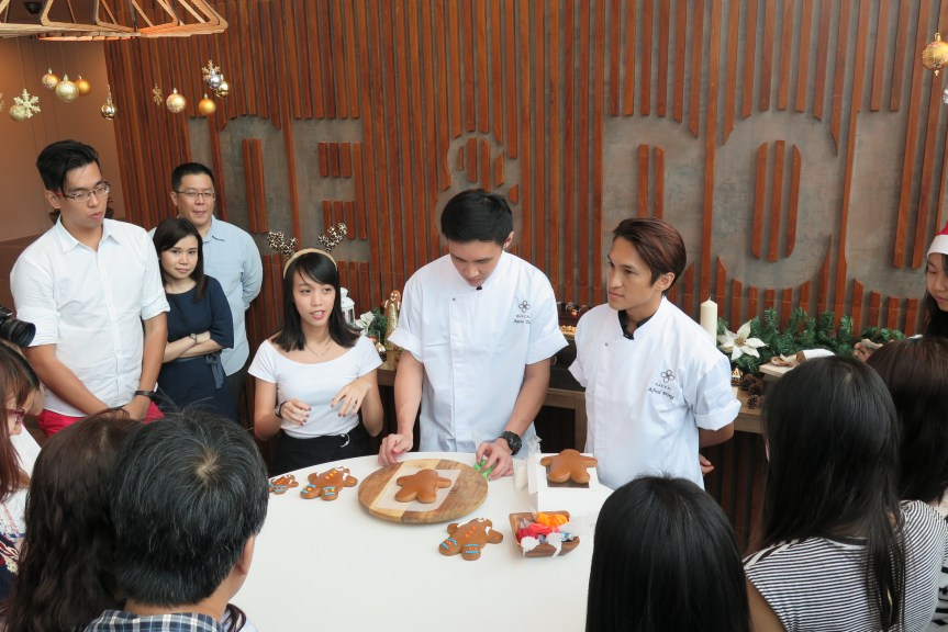 Joe & Dough Baker Chef Demostration