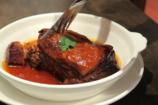 Braised Pork Belly with Special Sauce