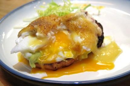 Eggs Benedict, Crab, Avocado $12 / $20