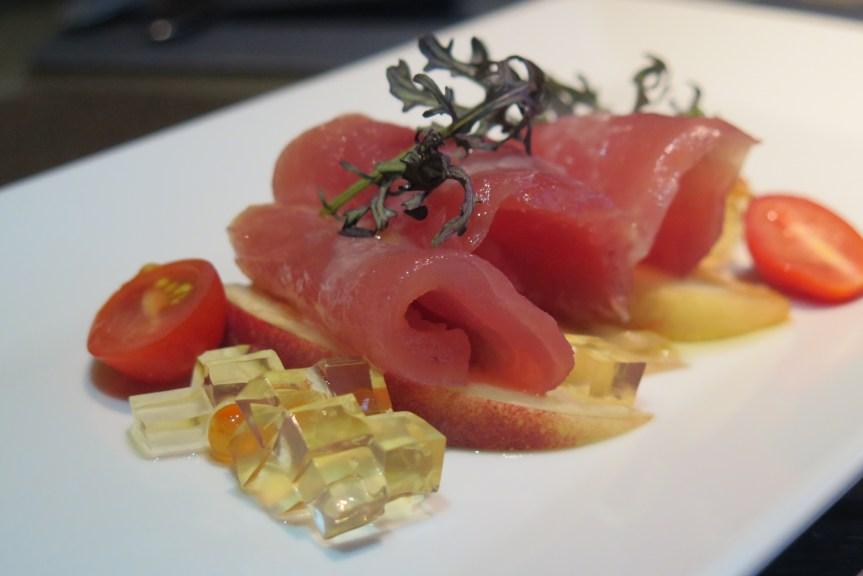 Tuna & Peach Salad ($14++)