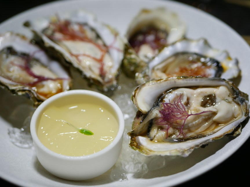 Tapas - Oyster with Citrus Jelly ($5.50 per piece)